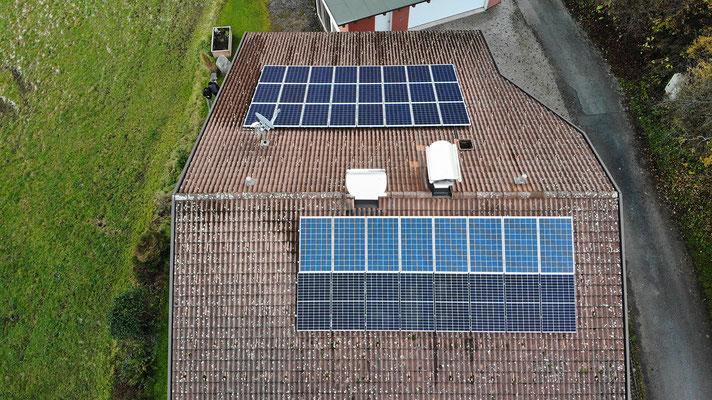 Photovoltaikanlage für Mehrparteienhaus