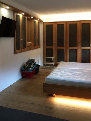 Direktes und indirektes Licht Schlafzimmer