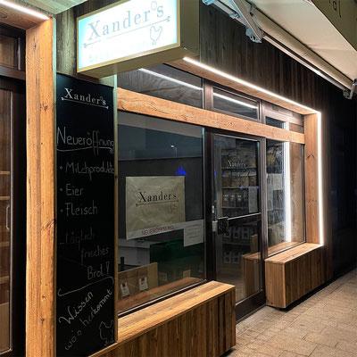 Installation und Montage Außenbeleuchtung für Xander's Bauernladen, Telfs