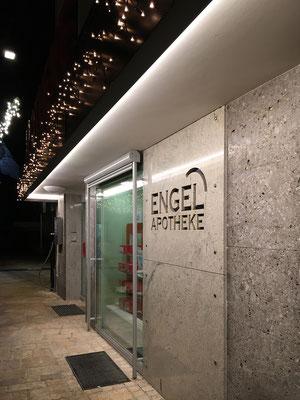 Neue Außenbeleuchtung für Apotheke in Telfs