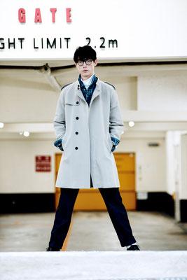 photographer : Hironori Sakunaga        model : Morgan        stylist : Showso Kajiko