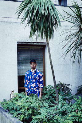 photographer : Hironori Sakunaga        model : Joseph       stylist : Showso Kajiko