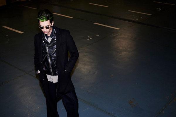photographer : Hironori Sakunaga        model : Robin        stylist : Showso Kajiko