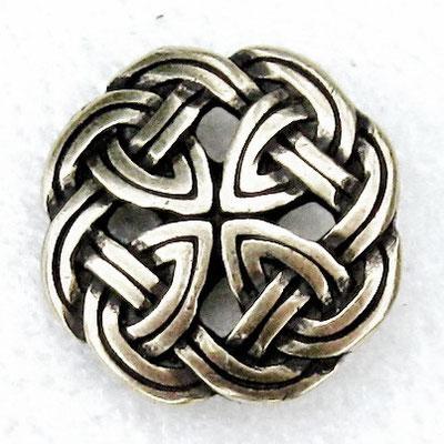 Zierniete keltischer Knoten mittel 2 cm 4,00 Euro je Niete