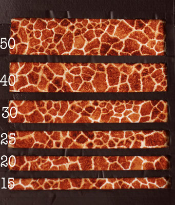 Giraffe klein cognac