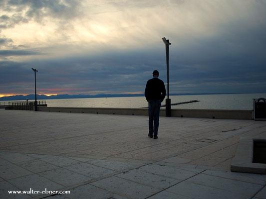 ...ein letzter Blick auf's Meer und nun geht es zum Frühstück und danach back ins Joglland.