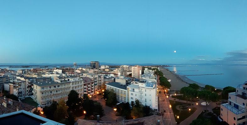 ....bis nach Trieste und in den bevorstehenden Vollmond, einfach perfekt