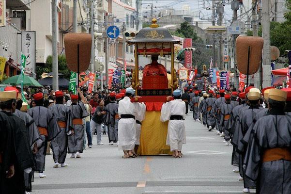 08-0008 首里城祭 古式行列