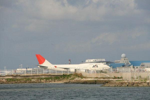 15-0016  JAL ジャンボ機 B747