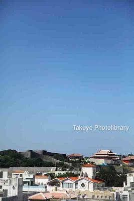 01-0007 首里城 北側からの眺め