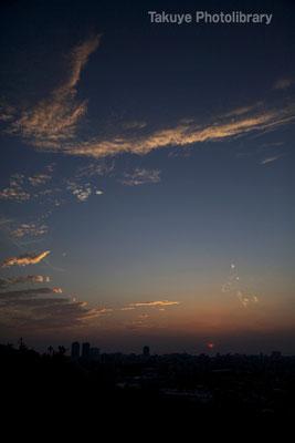 07-0075 那覇市街の夕景