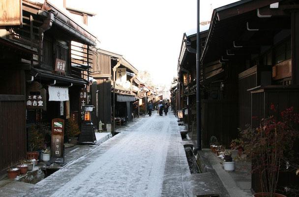 09-0032 飛騨高山の古い街並
