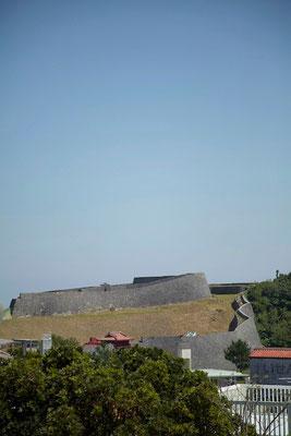01-0004 首里城 南側城壁 東のアザナ
