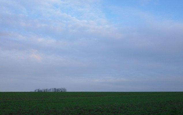 10-0074 牧歌的な風景。オーヴェル・シュル・オワーズ