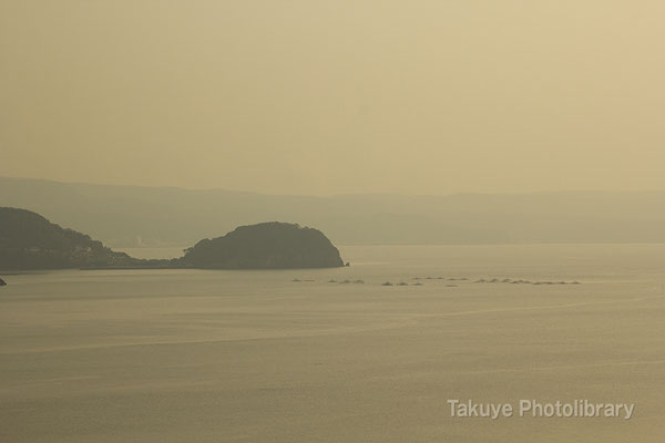 09-0068 長崎千々石(ちぢわ)観光センター展望台からの眺望