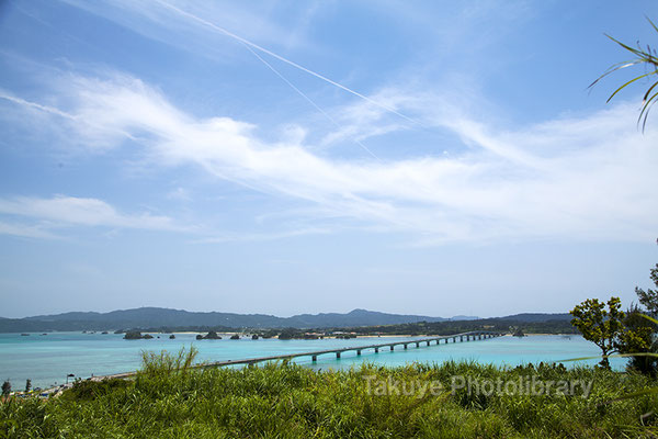 07a-0014 古宇利大橋 沖縄の風景