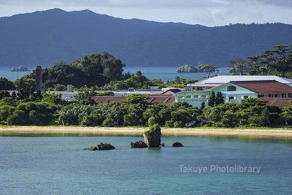 07a-0017 穏やかな海 羽地内海 沖縄の風景