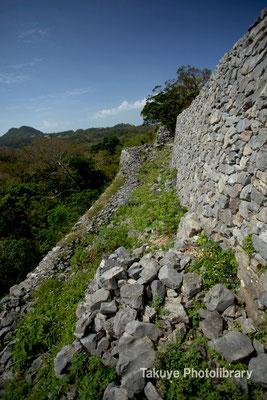02-0003 主郭西側の城壁