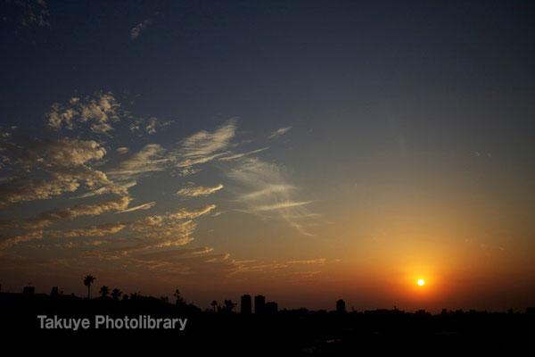 07-0074 那覇市街の夕景