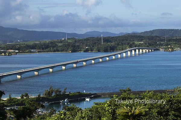 07a-0015 古宇利大橋 沖縄の風景