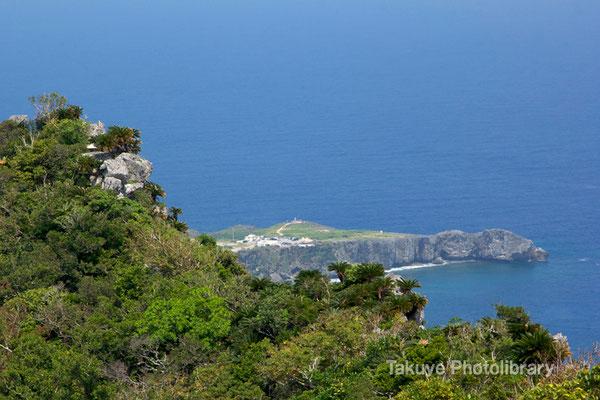 06e-0014a シヌクシ嶽から観た辺戸岬。