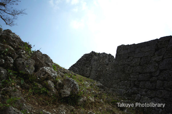 06a-0010 奥に見える城壁は南のアザナ