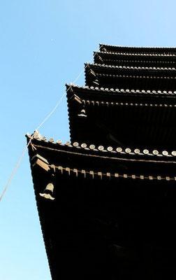 09-0010 京都 東寺 五重塔