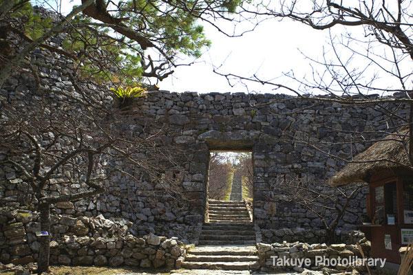 02-0026 平郎門(へいろうもん)今帰仁城の本門