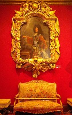 10-0022 シュノンソー城所蔵の絵画。アンリ2世の肖像画?