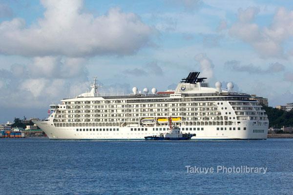 15a-0006 分譲マンション型クルーズ船 THE WORLD 43,524トン 196.35m