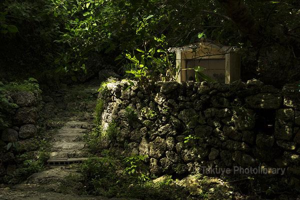 06h-0013 ヤブサツの浦原 浜川御嶽 アマミキヨ 仮住まいの場所