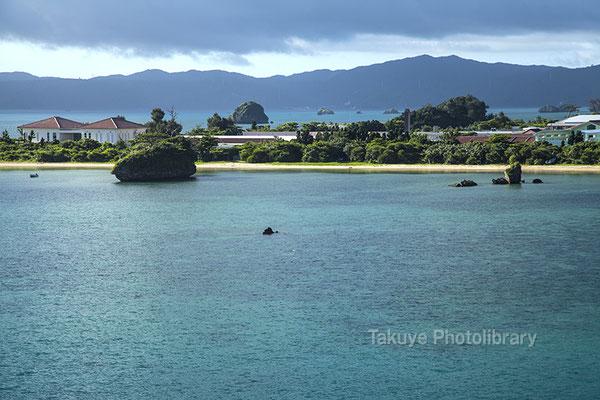07a-0018 穏やかな海 羽地内海 沖縄の風景