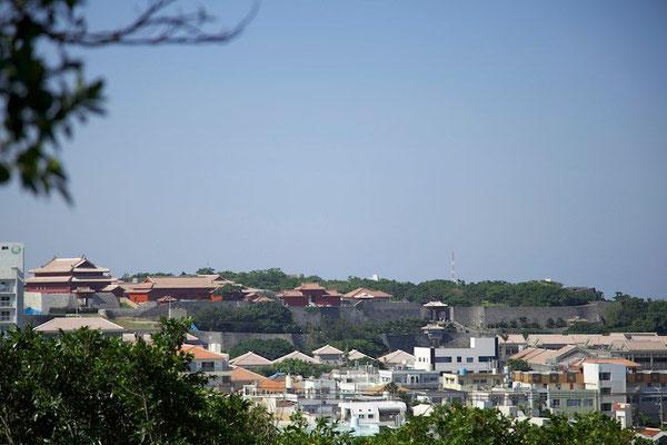 01-0009 首里城 北側からの眺め