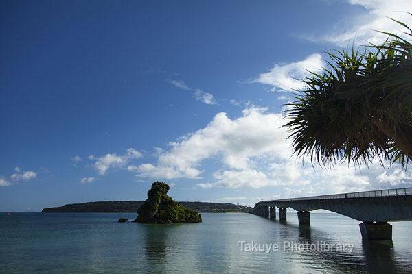 07a-0020 古宇利大橋 沖縄の風景