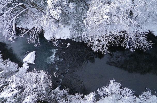 09-0025 山中温泉の雪景色