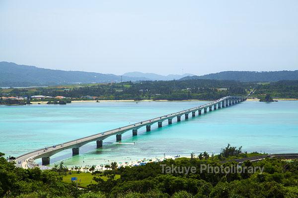07a-0013 古宇利大橋 沖縄の風景