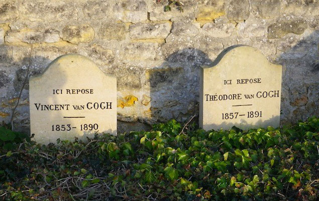 10-0071 フィンセント・ファン・ゴッホと弟テオの墓