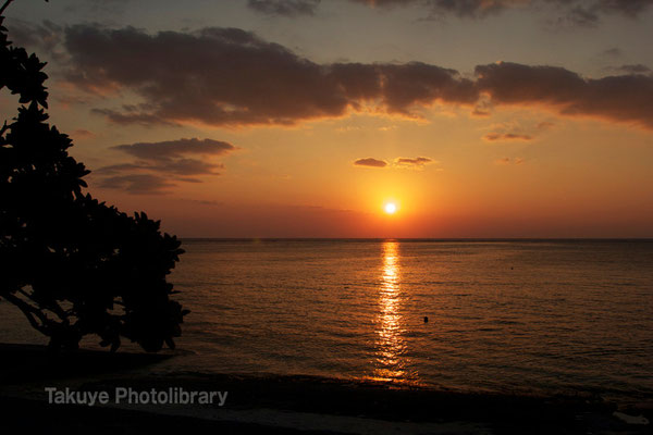 07c-0005 やんばるの夕陽