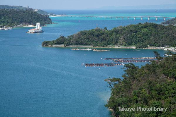 07a-0011 美しい景観。羽地内海