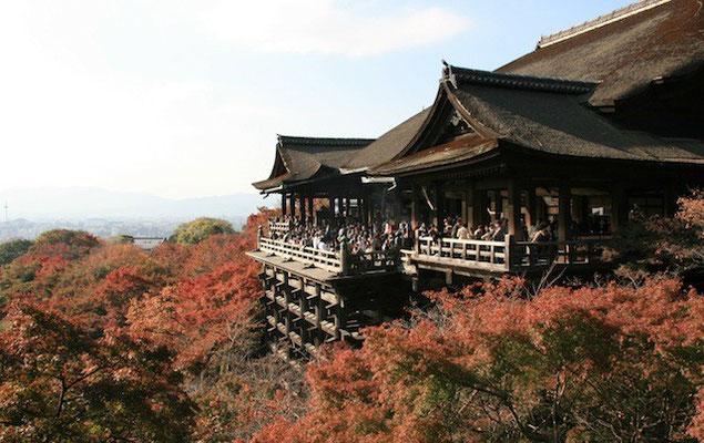 09-0019 京都 清水寺本堂