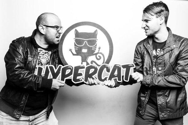 Hypercat with my bro DJ Domi G