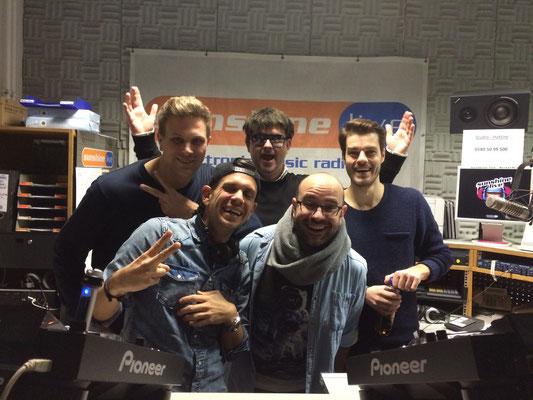 with Micha Moor, Gordon Hollenga (Disco Boys) & DBN!