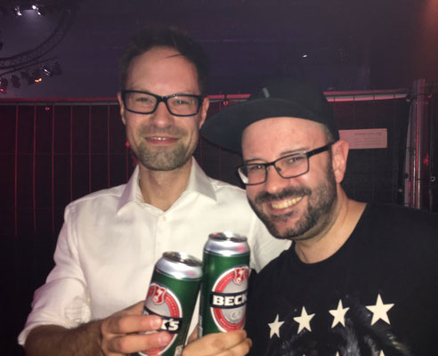Beer with 90s Rave Legend RMB