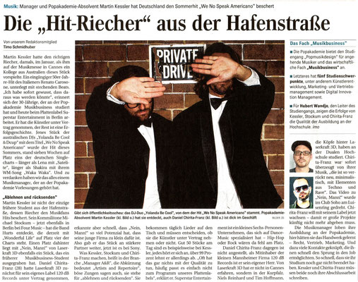 Mannheimer Morgen 19.10.2010