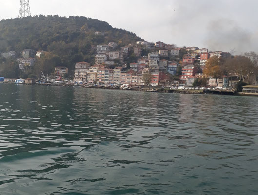 View to Rumeli Kavağı