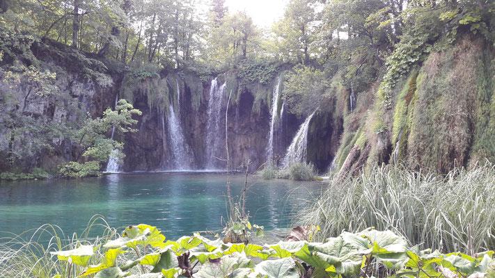 Wasserfälle an den Plitwitzerseen