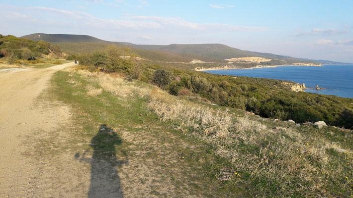Küste Thrakien, einst Lebensraum  der Kykonier