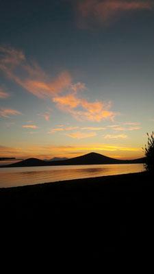 Sonnenuntergang in Skala Atalandis