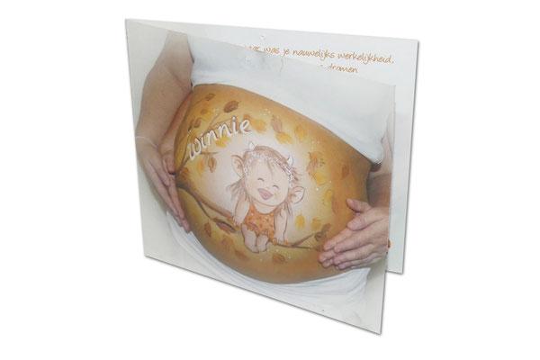 Foto laten drukken op geboortekaartjes