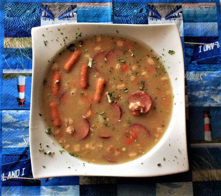 01.04.2020 Kartoffelsuppe mit Würstchen und Cabanossi